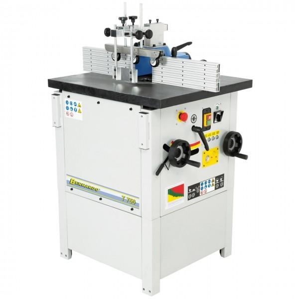Schwenkspindel-Fräsmaschine T 750 - 230 V