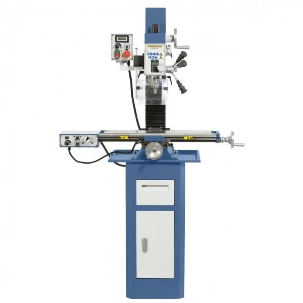 Bohr-und Fräsmaschine KF 25 Pro mit Vorschub inkl. 3Achs-Digitalanzeige