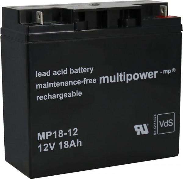 Batterie MP 18-12 / 12V 18 AH