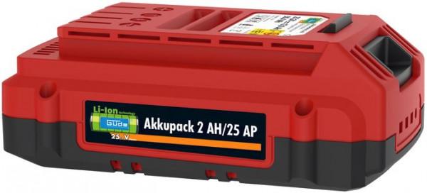 Akkupack 2 Ah/25 AP