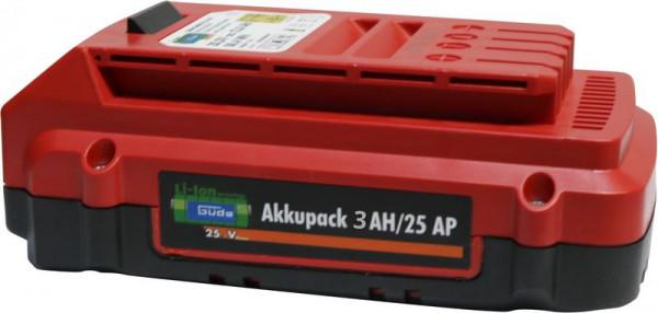 Akkupack 3 Ah/25 AP