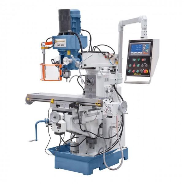 Universalfräsmaschine UWF mit pneumatischer Werkzeugklemmung