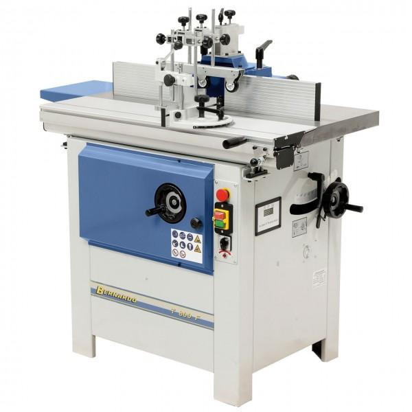 Schwenkspindel-Fräsmaschine mit Formattisch T 800 F - 230 V