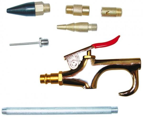 DL Ausblasepistolen-Set 7 tlg